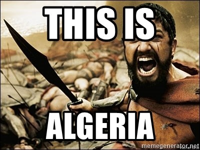 This Is Sparta Meme - THIS IS  ALGERIA