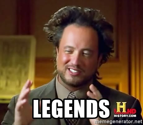 Ancient Aliens -  LEGENDS
