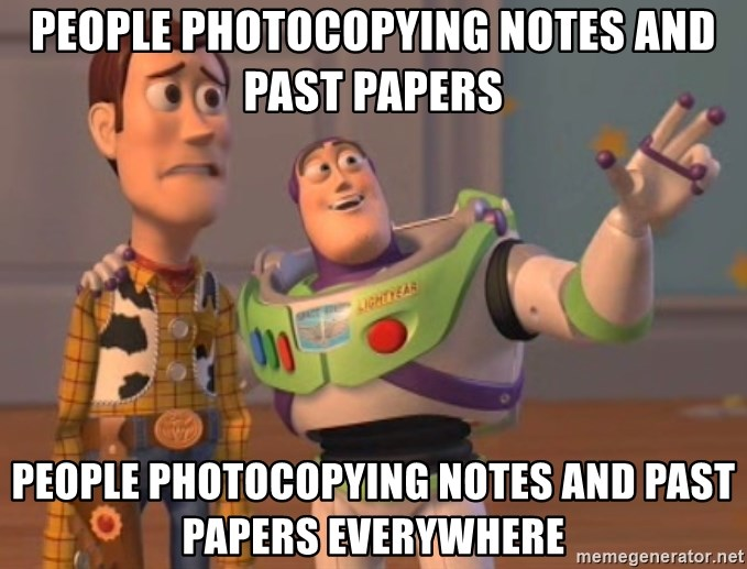 Tseverywhere - People photocopying notes and past papers PEOPLE PHOTOCOPYING NOTES and PAST PAPERS everywhere