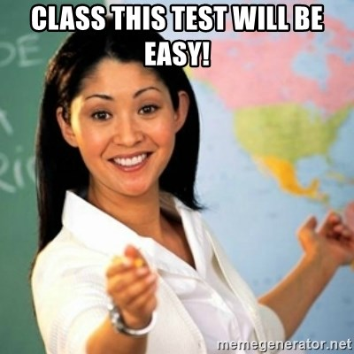 Asian Teacher - Class this test will be easy!