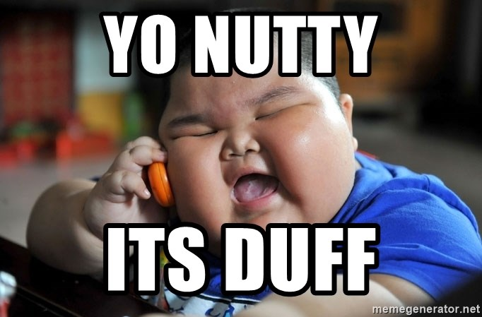 Fat Asian Kid - yo nutty its duff