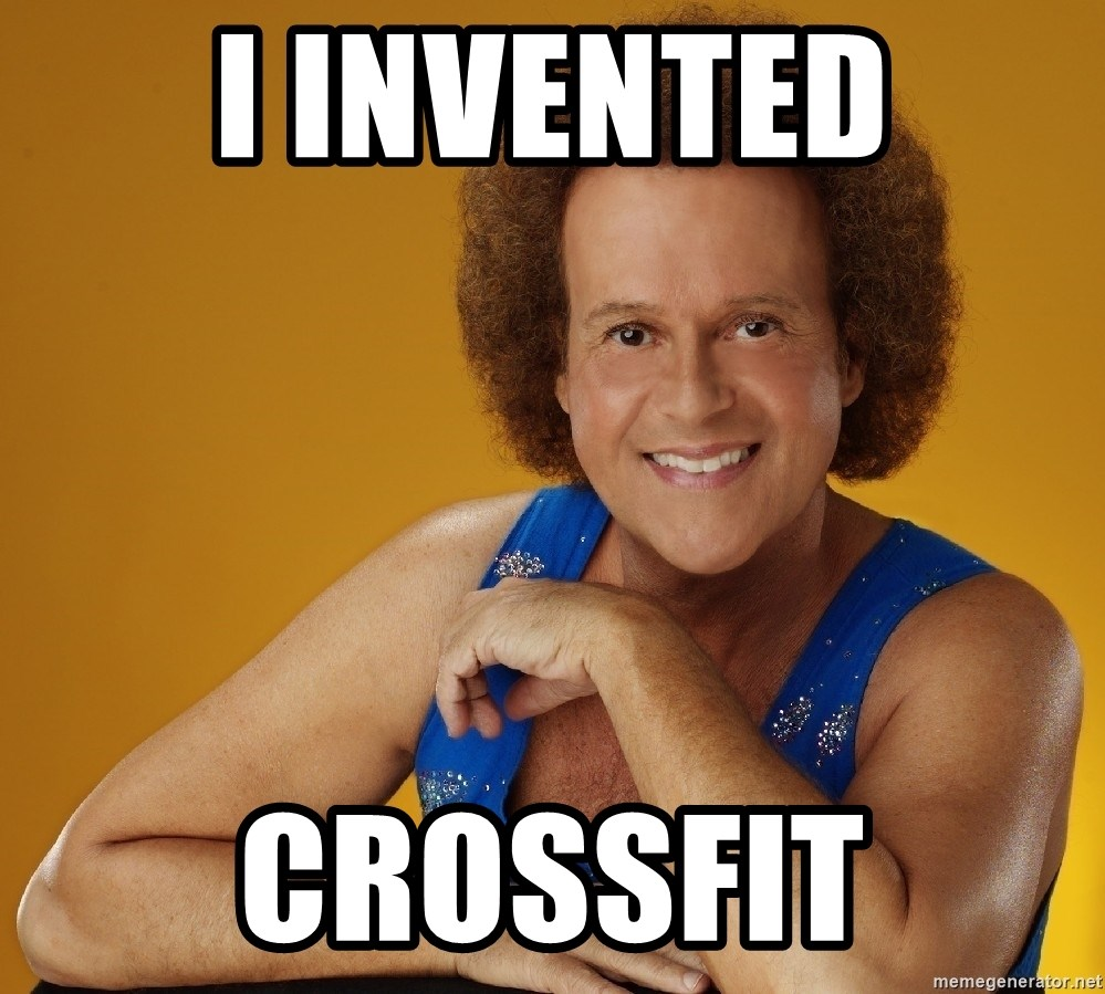 Gay Richard Simmons - I Invented CrossfiT