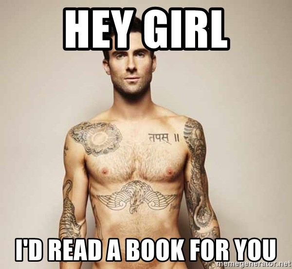 Adam Levine - Hey girl I'd read a book for You