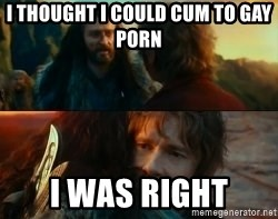 Never Have I Been So Wrong - I thought I could cum to gay porn I was right