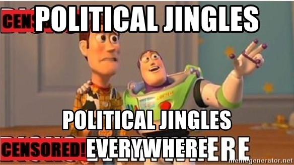 Toy Story Everywhere - POLITICAL JINGLES POLITICAL JINGLES EVERYWHERE