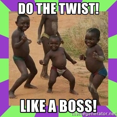 african kids dancing - DO THE TWIST! LIKE A BOSS!