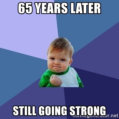Success Kid - 65 years later still going strong