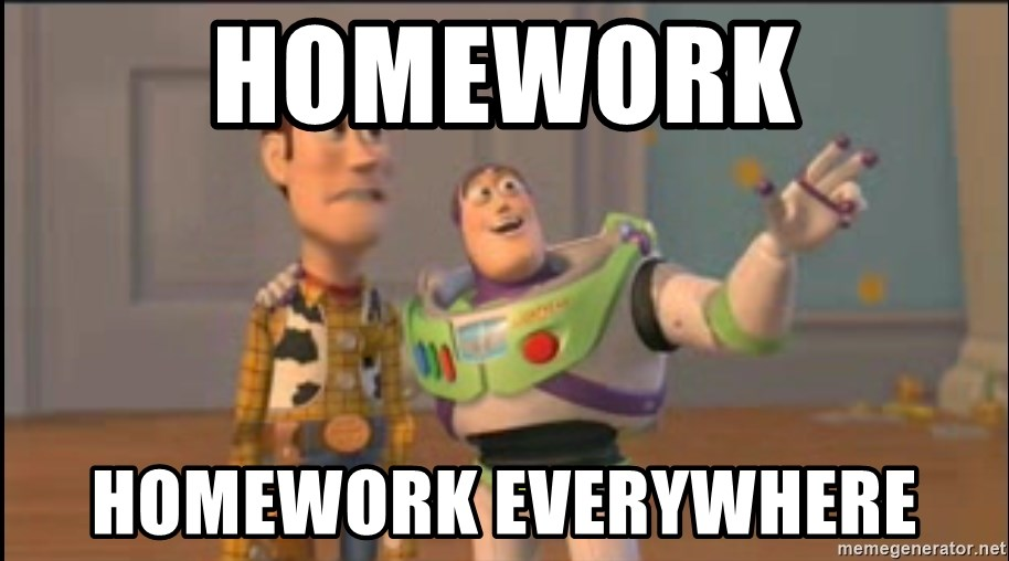 X, X Everywhere  - Homework Homework everywhere