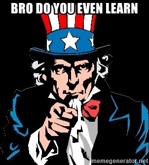 I Want You - Bro do you even learn