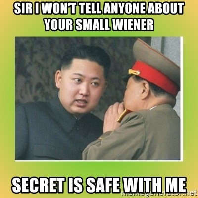 kim joung - sir i won't tell anyone about your small wiener secret is safe with me