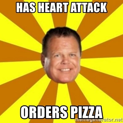 Jerry Lawler - HAS HEART ATTACK ORDERS PIZZA