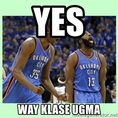 durant harden - Yes  Way klase ugma