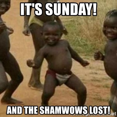 Black Kid - IT'S SUNDAY! AND THE SHAMWOWS LOST!