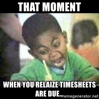Black kid coloring - that moment when you relaize timesheets are due...