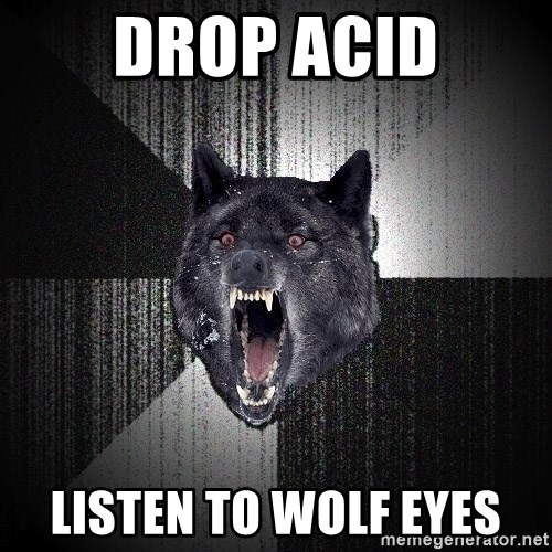 Insanity Wolf - DROP ACID LISTEN TO WOLF EYES