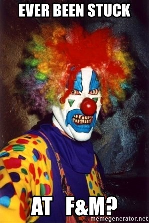 Insanity Clown - Ever BeEn stuck  At   F&m?