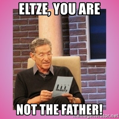 MAURY PV - ELTZE, YOU ARE NOT THE FATHER!