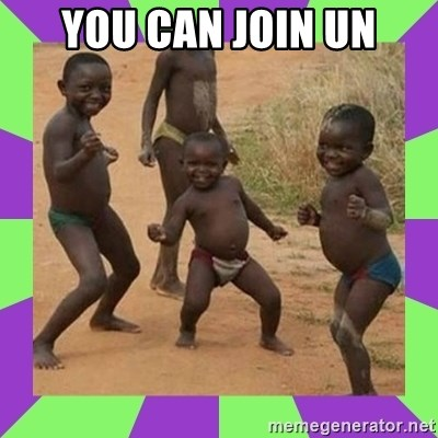african kids dancing - YOU CAN JOIN UN