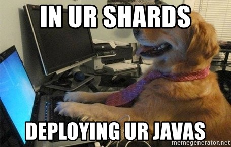 I have no idea what I'm doing - Dog with Tie - IN UR SHARDS DEPLOYING UR JAVAS