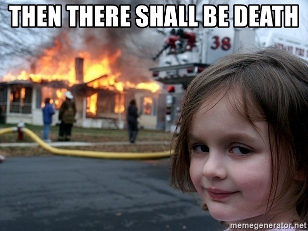 Disaster Girl - THEN THERE SHALL BE DEATH