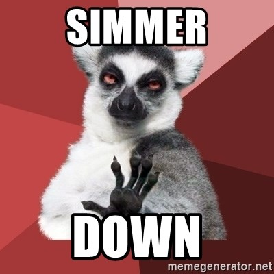 Chill Out Lemur - Simmer Down