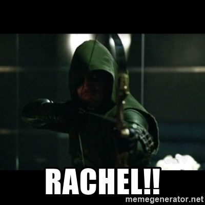 YOU HAVE FAILED THIS CITY -  RaChel!!
