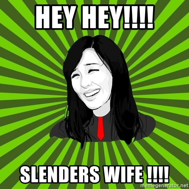 green fan - HEY HEY!!!! SLENDERS WIFE !!!!