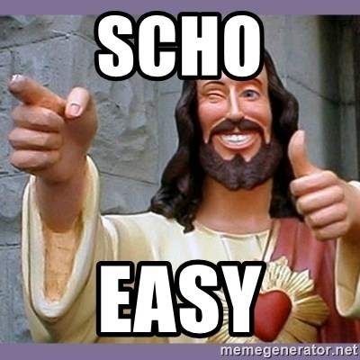 buddy jesus - SCHO EASY