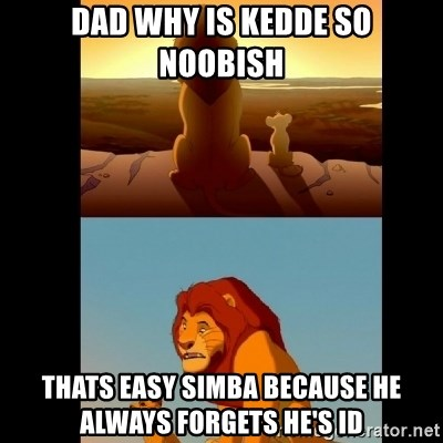 Lion King Shadowy Place - dad why is kedde so noobish thats easy simba because he always forgets he's ID