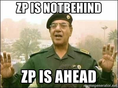 Iraqi Information Minister - ZP IS NOTBEHIND ZP IS AHEAD