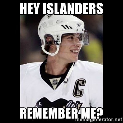 sidney crosby - Hey Islanders Remember me?