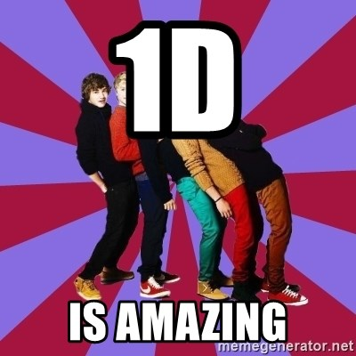 typical 1D - 1D IS AMAZING