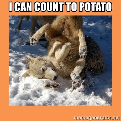 I Can Count To Potato Moon Moon