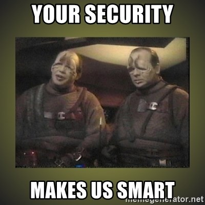 Star Trek: Pakled - your security makes us smart