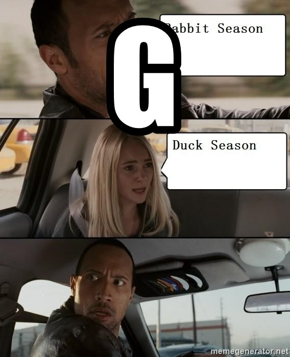 The Rock driving - G