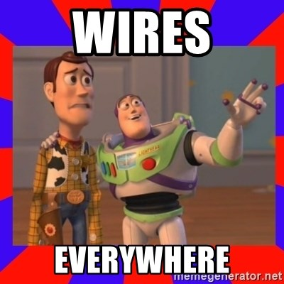Everywhere - WIRES EVERYWHERE