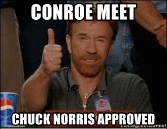 Chuck Norris Approves - Conroe meet Chuck Norris approved