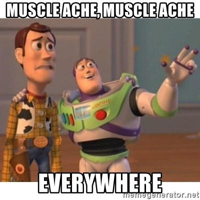 Toy story - MUSCLE ACHE, MUSCLE ACHE EVERYWHERE