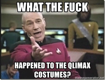 star trek wtf - what the fuck happened to the qlimax costumes?
