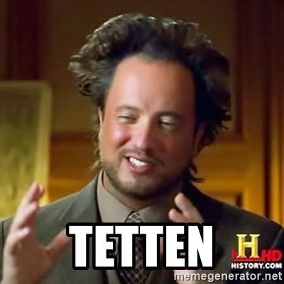 ancient alien guy -  Tetten