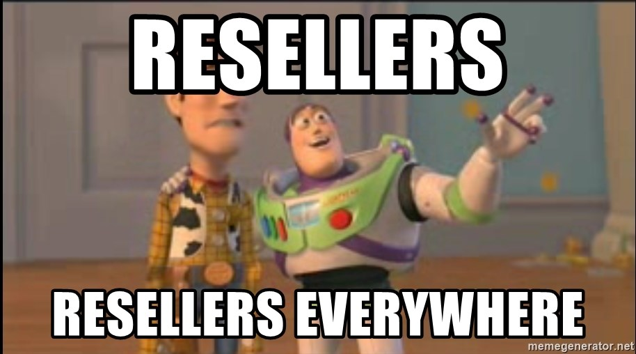 X, X Everywhere  - REsellers resellers everywhere