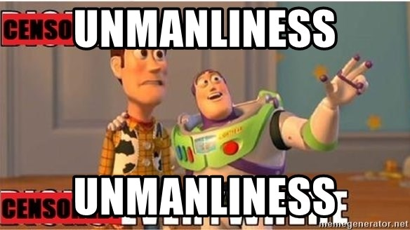 Toy Story Everywhere - Unmanliness unmanliness