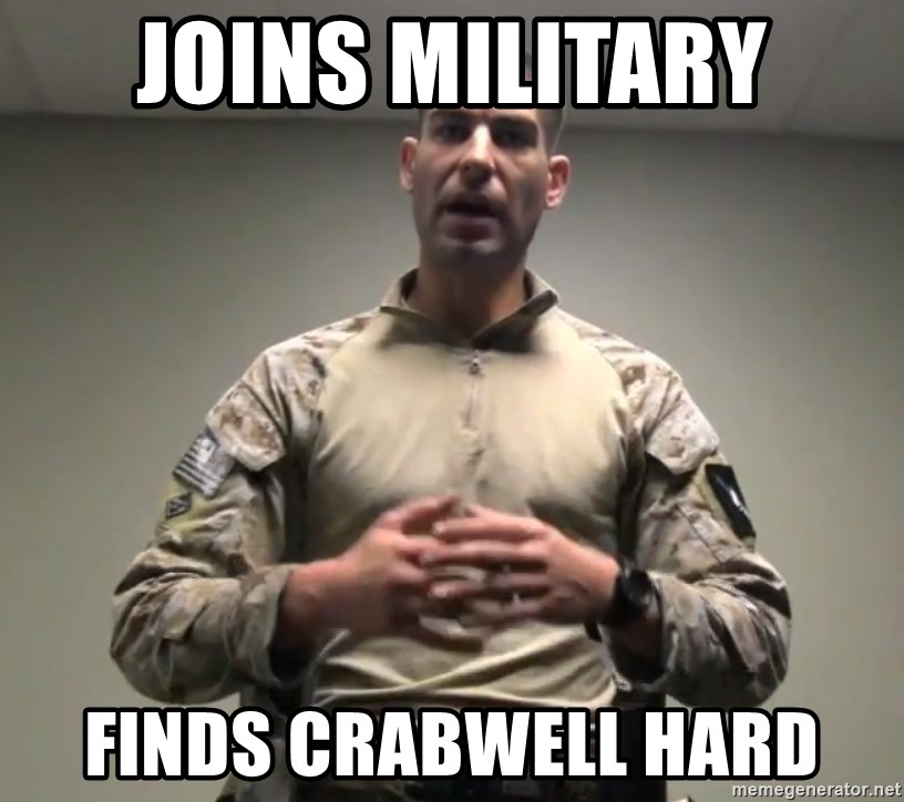 GMRPLS - JOINS MILITARY FINDS CRABWELL HARD