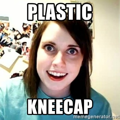 Overly Attached Girlfriend 2 - plastic kneecap