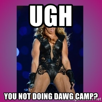 Ugly Beyonce - UGH yOU NOT DOING DAWG CAMP?