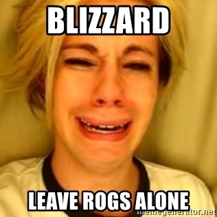You Leave Jack Burton Alone - BLIZZARD LEAVE ROGS ALONE