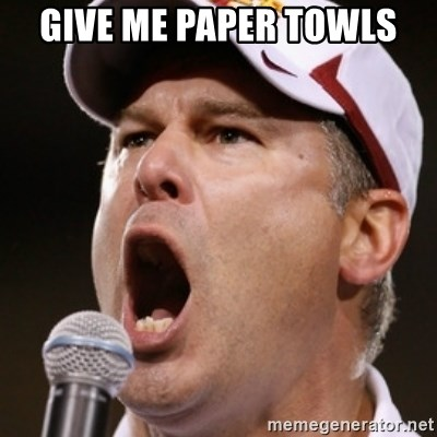 Pauw Whoads - GIVE ME PAPER TOWLS