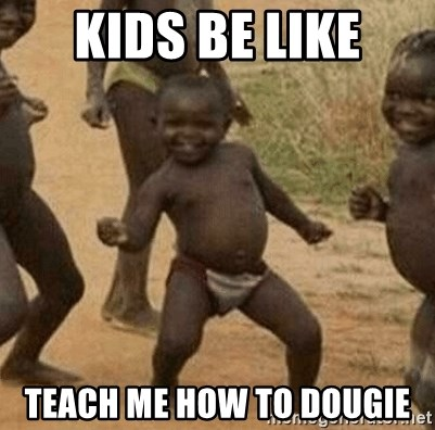 Success African Kid - Kids be like Teach me how to dougie