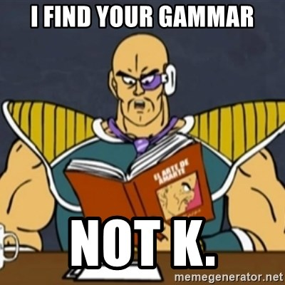 El Arte de Amarte por Nappa - I find your gammar not k.
