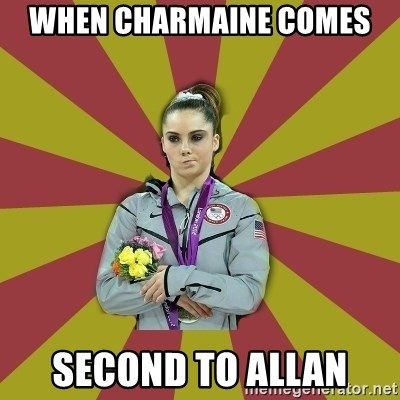 Not Impressed Makayla - WHEN CHARMAINE COMES  SECOND TO ALLAN